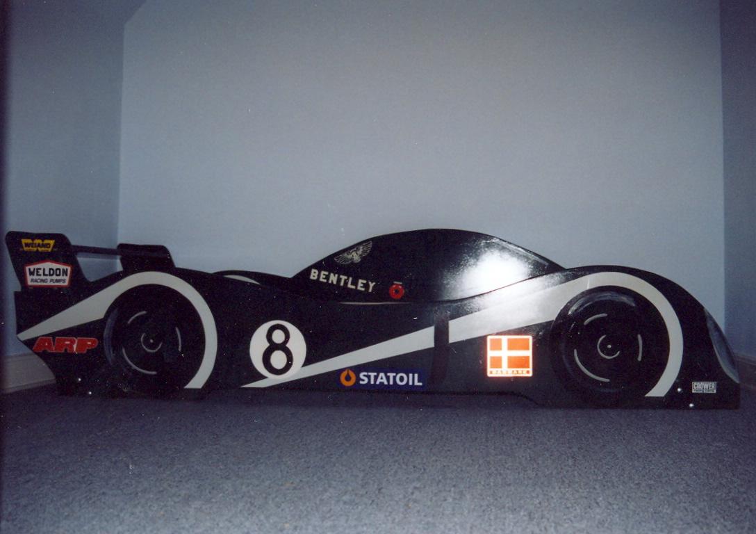 racerbil seng Sjov for børn racerbil seng